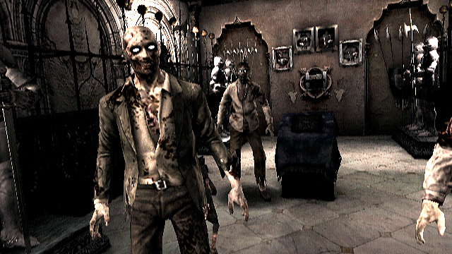 Pantallazo de Resident Evil: The Umbrella Chronicles para Wii