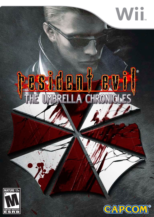 Caratula de Resident Evil: The Umbrella Chronicles para Wii