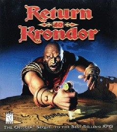 Caratula de Return To Krondor para PC