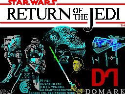 Pantallazo de Return of the Jedi para Spectrum