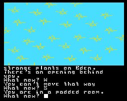 Pantallazo de Return to Eden para MSX