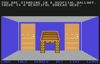 Pantallazo de Return to Oz para Commodore 64