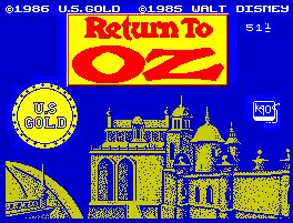 Pantallazo de Return to Oz para Spectrum