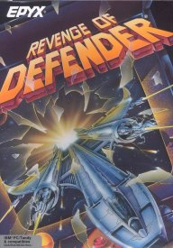 Caratula de Revenge of Defender (a.k.a. Starray) para PC