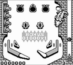 Pantallazo de Revenge of the Gator para Game Boy
