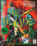 Caratula de Rex Blade: The Battle Begins para PC