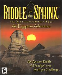 Caratula de Riddle of the Sphinx: An Egyptian Adventure para PC