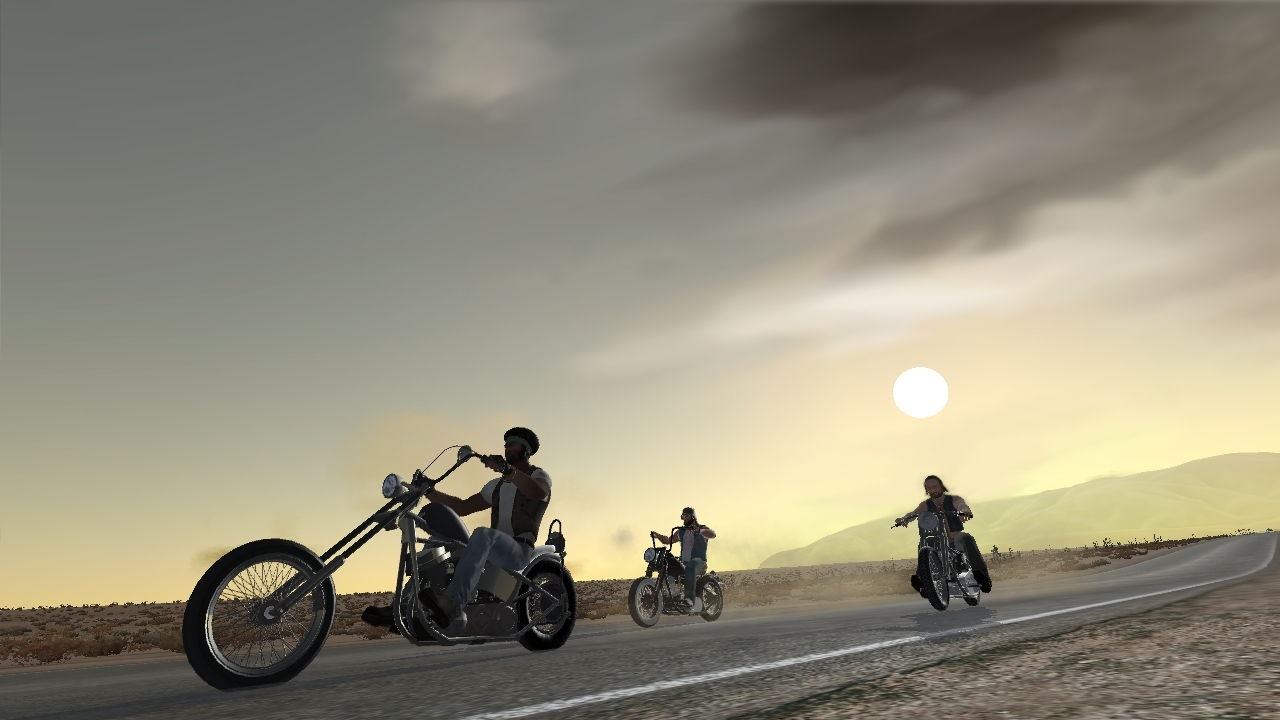Pantallazo de Ride to Hell para PC