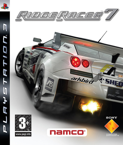 Caratula de Ridge Racer 7 para PlayStation 3