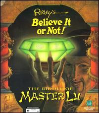 Caratula de Ripley's Believe it or Not! The Riddle of Master Lu para PC