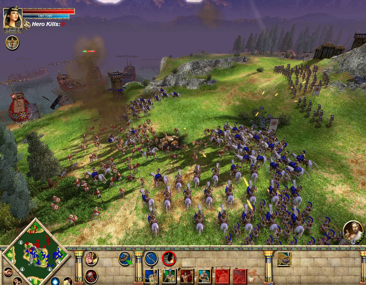 Pantallazo de Rise & Fall: Civilizations at War para PC