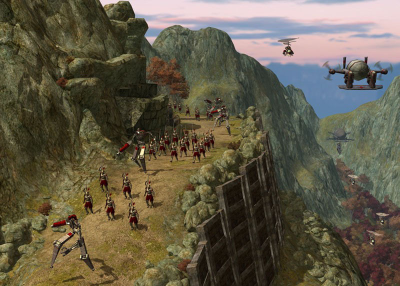 Pantallazo de Rise of Nations: Rise of Legends para PC