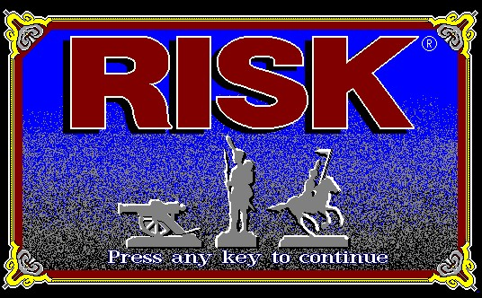 Pantallazo de Risk: The World Conquest Game (1991) para PC