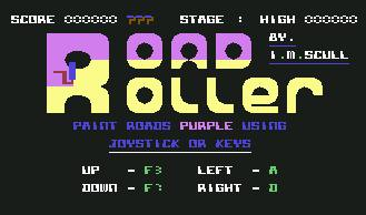 Pantallazo de Road Roller para Commodore 64
