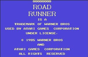 Pantallazo de Road Runner para Commodore 64