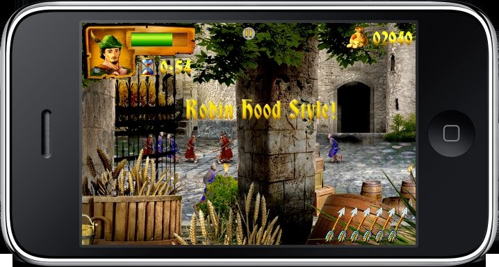 Pantallazo de Robin Hood: The Return of Richard para Iphone