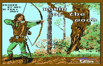 Pantallazo de Robin of the Wood para Commodore 64