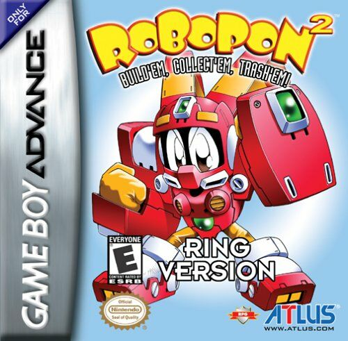Caratula de Robopon 2: Ring Version para Game Boy Advance