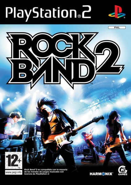 Caratula de Rock Band 2 para PlayStation 2
