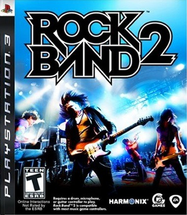 Caratula de Rock Band 2 para PlayStation 3