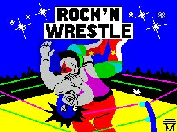 Pantallazo de Rock 'n Wrestle para Spectrum