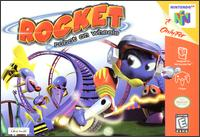 Caratula de Rocket: Robot on Wheels para Nintendo 64