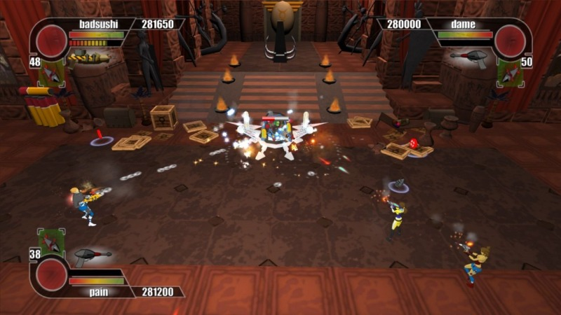Pantallazo de Rocketmen: Axis of Evil para PlayStation 3