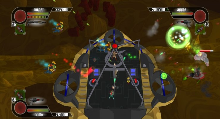Pantallazo de Rocketmen: It Came from Your Uranus (Xbox Live Arcade) para Xbox 360