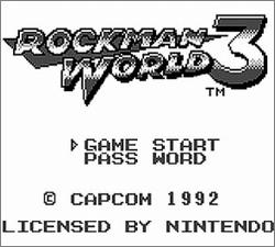 Pantallazo de Rockman World 3 para Game Boy