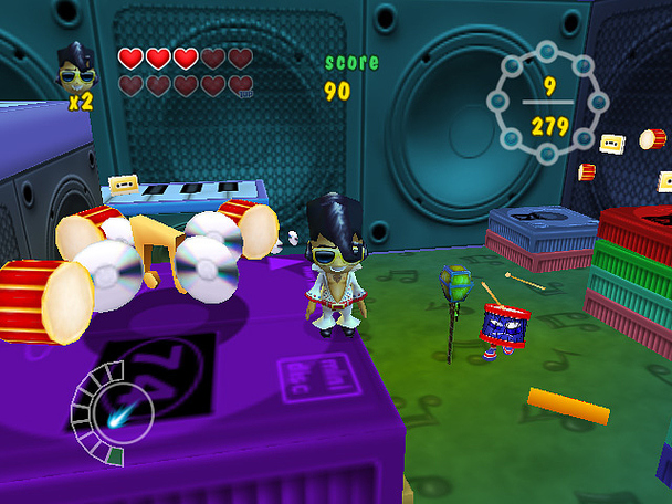 Pantallazo de Rock'n Roll Adventures para Wii