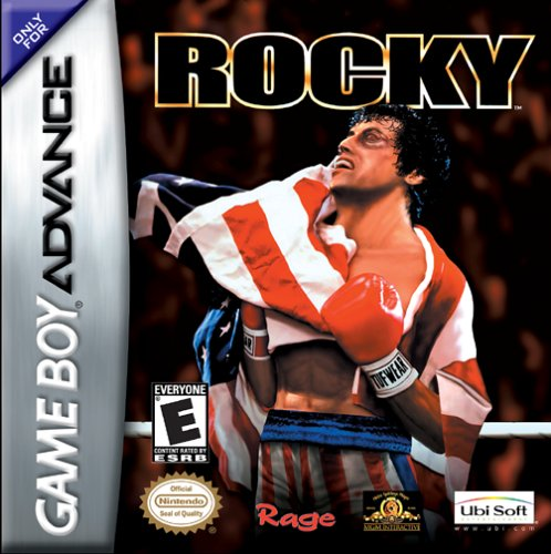 Caratula de Rocky para Game Boy Advance
