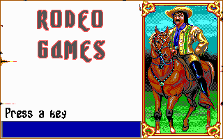 Pantallazo de Rodeo Games para PC