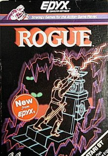Caratula de Rogue: The Adventure Game para Atari ST