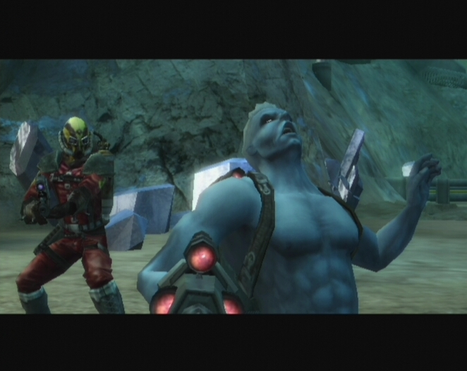 Pantallazo de Rogue Trooper: Quartz Zone Massacre para Wii
