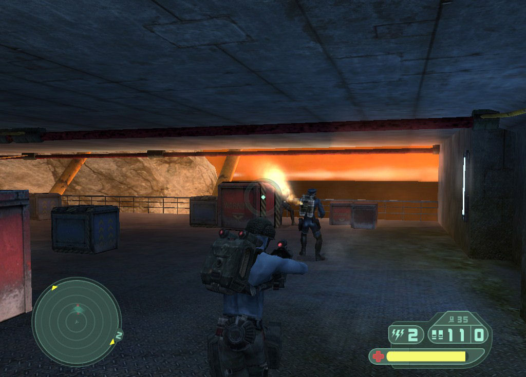 Pantallazo de Rogue Trooper para PC