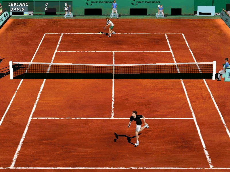 Pantallazo de Roland Garros French Open 2001 para PC