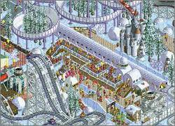 Pantallazo de RollerCoaster Tycoon: Loopy Landscapes para PC