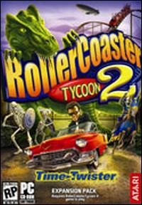 Caratula de RollerCoaster Tycoon 2: Time Twister Expansion Pack para PC