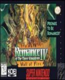 Carátula de Romance of the Three Kingdoms IV: Wall of Fire