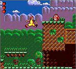 Pantallazo de Ronald McDonald in Magical World (Europa) para Gamegear
