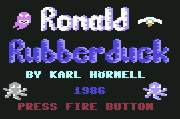 Pantallazo de Ronald Rubberduck para Commodore 64