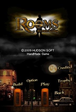 Pantallazo de Rooms: The Main Building para Nintendo DS