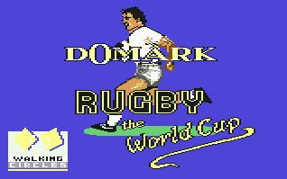Pantallazo de Rugby - The World Cup para Commodore 64