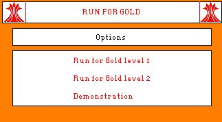 Pantallazo de Run For Gold para Amstrad CPC