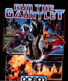 Caratula de Run The Gauntlet para Atari ST