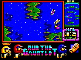 Pantallazo de Run The Gauntlet para Amstrad CPC