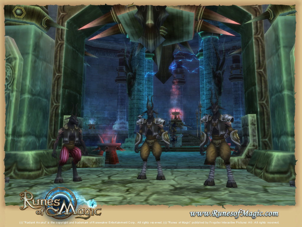 Pantallazo de Runes of Magic para PC