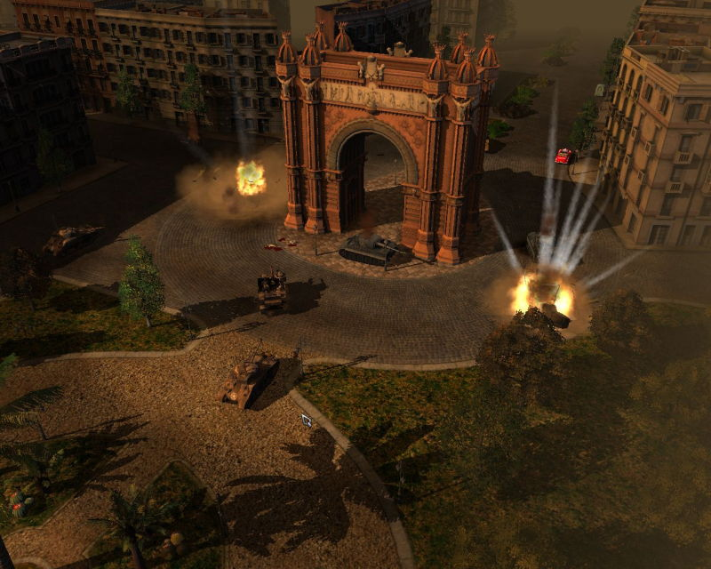 Pantallazo de Rush for Berlin: Rush for the Bomb para PC