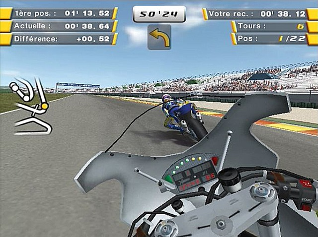 Pantallazo de SBK 07: Superbikes World Championship para PlayStation 2