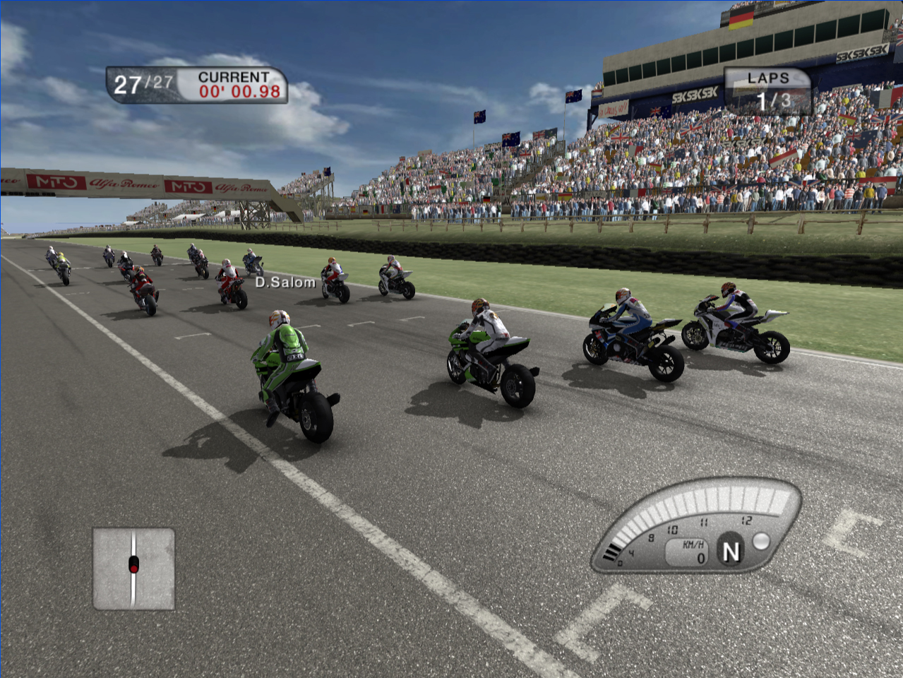 Pantallazo de SBK 09: Superbike World Championship para PC